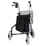 Traveler 3-Wheel Rolling Walker / Rollator by Nova (Model# 4900)