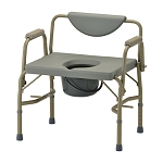 Heavy Duty Commode with Drop-Arm & Extra Wide Seat by Nova (Model# 8583)