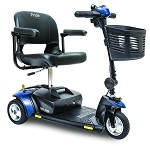 Pride Go-Go Elite Traveller 3-Wheel Scooter