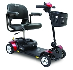 Pride Go-Go Elite Traveller 4-Wheel Scooter