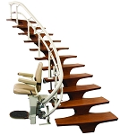 HELIX Curved Harmar Stair Lift