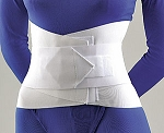 LUMBAR SACRAL SUPPORT WITH OVERLAPPING ABDOMINAL BELT 10