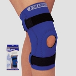 Neoprene Knee Brace w/Hinged Bars, Hor-Shu Pad