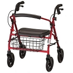 Mini Mack Heavy Duty Rolling Walker / Rollator by Nova (Model# 4214)