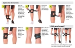 Short & Lightweight Patella Tracking Brace for Runner's Kneecap Pain, Dislocation & Subluxation