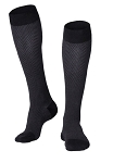 Touch Men's Herringbone Pattern 20-30 mmHg Knee Highs 20-30mmHg