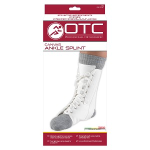 2372 / CANVAS ANKLE SPLINT